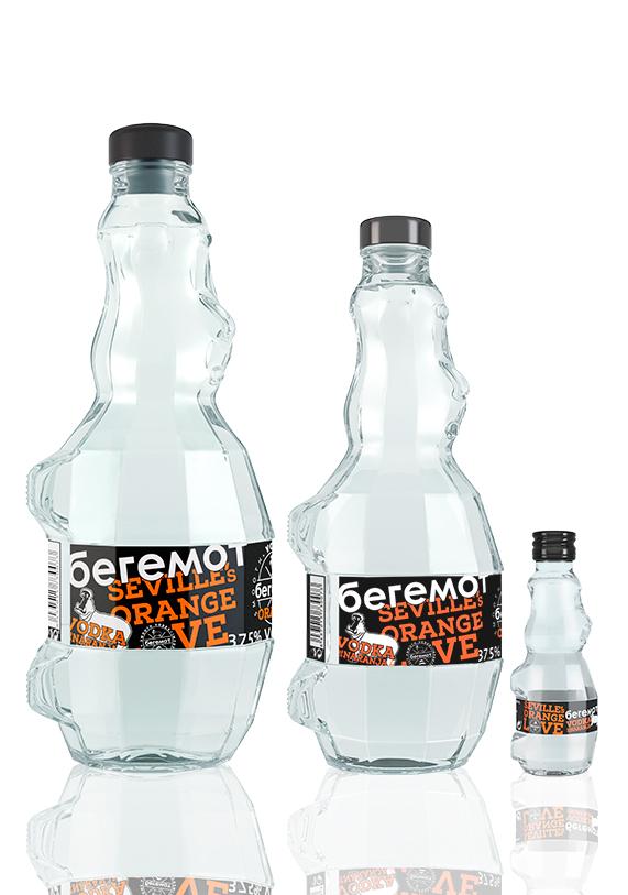 Vodka Beremot Naranja | Andalusí Licores