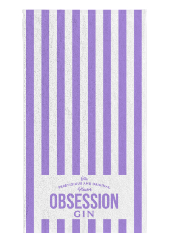 Toalla Playa Obsession Gin | Andalusí Licores