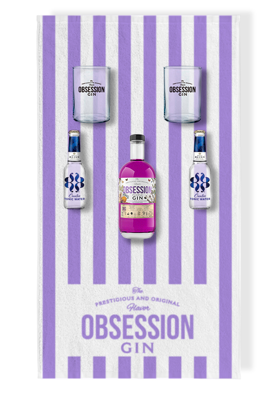 Pack Verano Obsession Gin Purple | Andalusí Licores