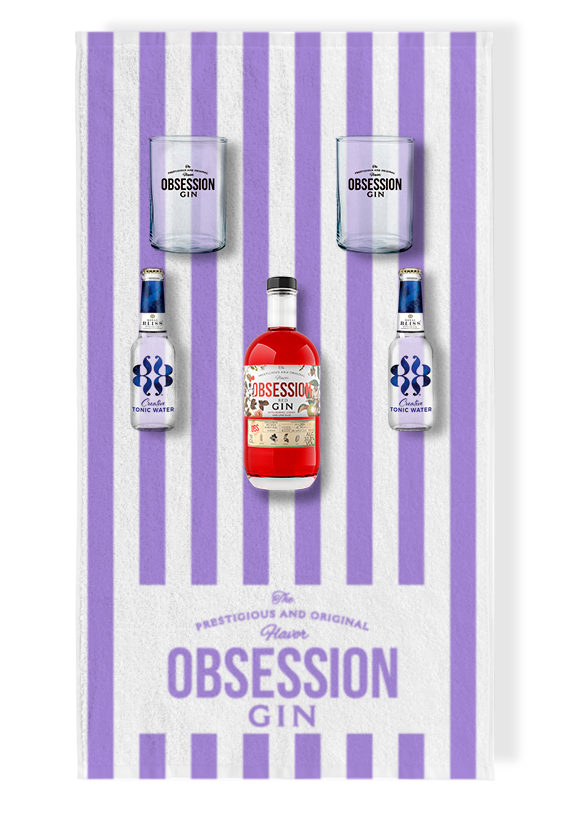 Pack Verano Obsession Gin Red | Andalusí Licores