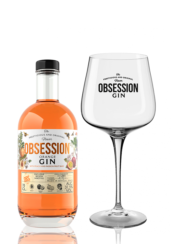 Obsession Gin Orange | Andalusí Licores
